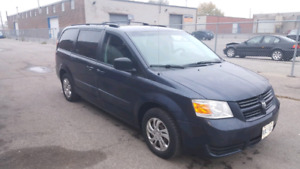 2008 DODGE CARAVAN PROPANE HYBRID , GREAT CAR, FUEL SAVINGS