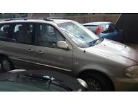 2003 Kia Sedona 2.9CRDi auto LX 7 seater estate diesel two bar