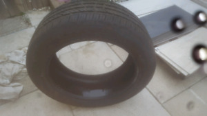 For sale I have a 20 inch tire like new