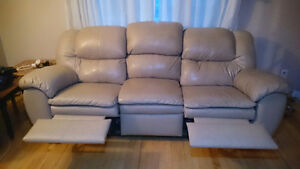 Leather couch and recliner, $500 OBO!! St. John's Newfoundland image 2
