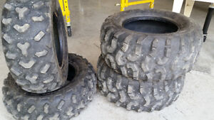 "Maxxis 24"" take off atv tires"