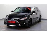 2017 Lexus CT 1.8 Advance Petrol/Electric Hybrid black Automatic
