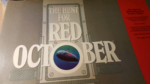 Hunt for red October boardgame.