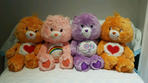 Lot of 4 Care Bears