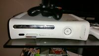 xbox 360, 4 controllers, games, other stuff