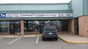Resale stores Canadian clothing exchange