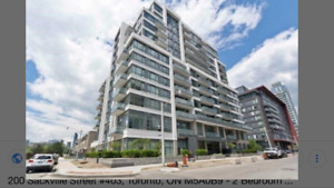 1+1 large condo for rent Oct 1st at Regent Park