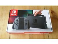 Brand New Nintendo Switch Console Grey UK + 1 Year Warranty