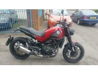 Benelli LEONCINO 500. 2019 reg,only 1389 miles,mint condition,save over £1000
