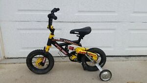 Kids Tonka Bike with Shocks and Training Wheels - 12""