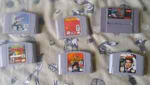 N64/SNES lot-Pokemon Stadium, Goldeneye, Yoshi's Cookie