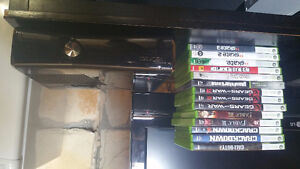 Selling Xbox 360 Slim with Games
