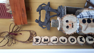 Beautifully handcrafted  Decor  WINTER HOLIDAY CHRISTMAS