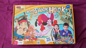 """Jake and the Neverland Pirates """"Who Shook Hook?"""" Board Game"""