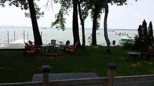 Cottage for rent, direct waterfront, lagoon city, Lake Simcoe
