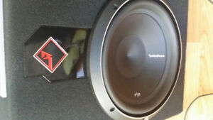 Rockford Fosgate SUBWOOFER+Amplifier