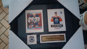 Framed Hockey Cards with pin & name - Great Christmas Gift! Kitchener / Waterloo Kitchener Area image 3