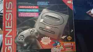 Sega Genesis Original In Box 120 OBO