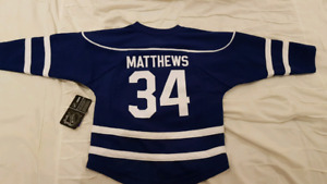 Maple Leafs Matthews Childrens SML Jersey