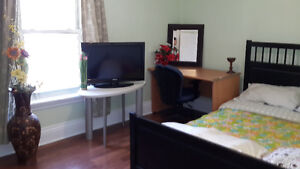 furnished room for rent available immidiatly or september 1 st