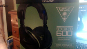 xbox one TurtleBeach Stealth 600 surroundsound wireless headset