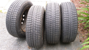 4 - 205/65R15 Michelin X-Ice Tires