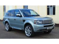 """2007MY Land Rover Range Rover Sport 2.7 TD V6 * 22"""" Wheels * Chrome Pack * FSH"""