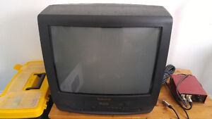 Free TV with built in vhs player