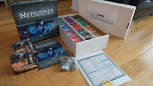 HUGE LOT - Android Netrunner card game lot