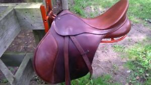 Bates saddle with cair and gullets