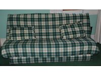 Sofa Bed with matching cushions