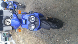 2 50cc Yamaha YW5 Scooters