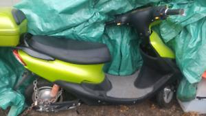 Green and Black E-Bike