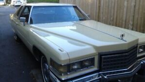76 Cadillac for sale
