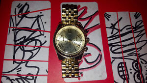 Limited edition gold watch