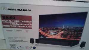 Home theater system 7.1