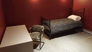 ROOM SUBLET ALL-IN RENT / FACING METRO / Short Term Avail.