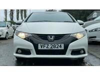 2014 Honda Civic 1.8 I-VTEC SR 5d 140 BHP Hatchback Petrol Automatic
