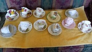 ASSORTED TEA CUPS AND SAUCERS Belleville Belleville Area image 2