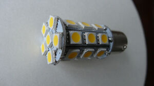 Xenon White 1157 5050 SMD 27 LED Tail Brake Stop Light Bulb Lamp