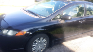 Honda civic 2007 for 2500 manual
