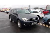 2009 09 TOYOTA RAV4 2.2 D-4D 134bhp XT-R.FULL SH,2 KEYS,FINANCE AVAILABLE.TOWBAR