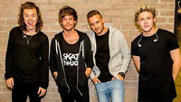 One Direction Floor Seats Thursday August 20 @ Rogers Centre
