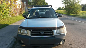 Subaru Forester 2003 AWD 600$ Fonctionnel A/C Winter Beater
