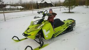2015 Ski-doo Freeride 154 800 Etec lots of extras !