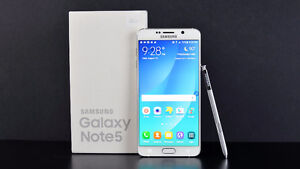 Samsung Note 5,New&Unlocked 419.99$ Buy from a Store w/Warranty