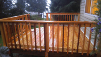 Deck building , Refinishing and Maintenance