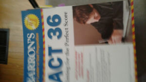 ACT , SAT Book for sale
