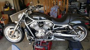2007 Harley v-rod  mint condition lots of custom parts !