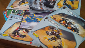 Nine Bionicle Lego Pattern Books, Lego Technic Kitchener / Waterloo Kitchener Area image 1